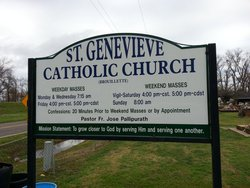 Saint Genevieves Catholic Cemetery