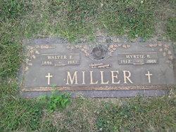 Myrtie B <i>Dobbs</i> Miller