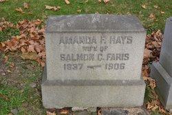 Amanda F <i>Hays</i> Faris