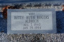 Betty Ruth <i>Rogers</i> Aldrich