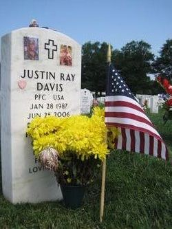 PFC Justin Ray Davis
