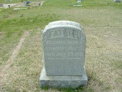 William G Barnes