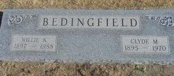 Willie K Bedingfield