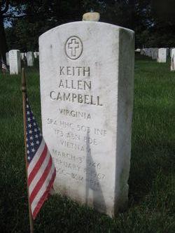 SPC Keith Allen Campbell