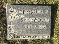 Gertrude Elizabeth <i>Nail</i> Sherwood