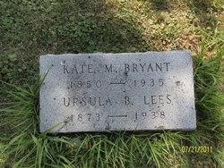 Ursula Page <i>Bryant</i> Lees