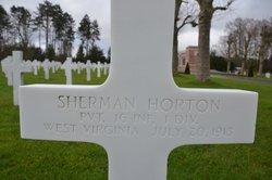 PVT Sherman Horton