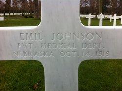 PVT Emil Johnson