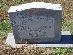 Allie Effie <i>Coggins</i> Black