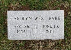 Carolyn Mae <i>West</i> Barr