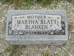 Martha Ida <i>Piehl Blatt</i> Blanken