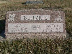Ann Gertrude <i>Carlson</i> Blitzkie