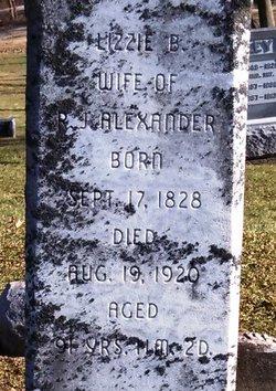 Elizabeth B. <i>Hodges</i> Alexander