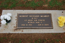 Robert Richard McAboy