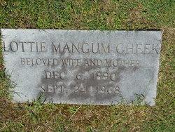 Lottie Southerland <i>Mangum</i> Cheek