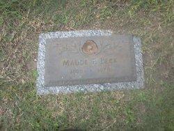 Maude Pearl <i>Hence Elliott</i> Beck