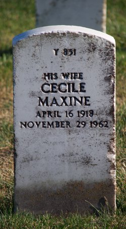Cecile Maxine Stevens