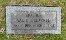 Sadie B <i>Learned</i> Pennock