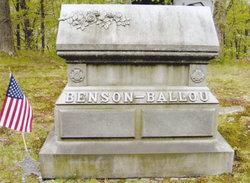 Carrie Eliza <i>Ballou</i> Benson