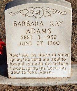 Barbara Kay Adams