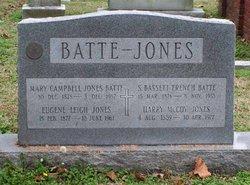 Mary Campbell <i>Jones</i> Batte