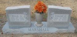 Billie D Willie <i>McTavish</i> Marshall