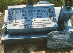 Aubrey Lee Acreman