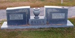 Mary B. <i>Johnson</i> Bates