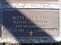 Betty <i>Cox</i> Franklin