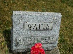 Andrew W Watts