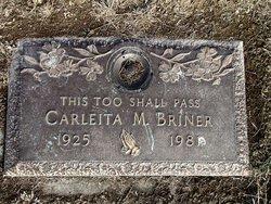 Carleita Mae Skeets Briner