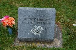Minnie Florence <i>Griffith</i> Blowers