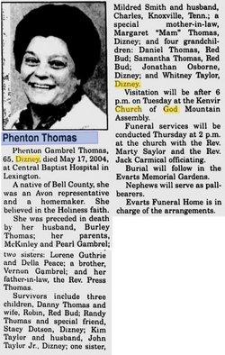 Phenton <i>Gambrel</i> Thomas