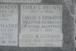 Emilie Emily <i>Lambert</i> Brown