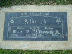 Jeannette Anne <i>Maurer</i> Aldrich