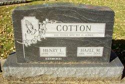 Hazel Margaret <i>Johnson</i> Cotton