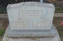Kenneth Robert Buster Unser