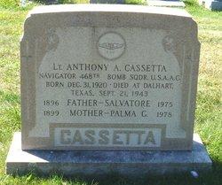 Anthony A Cassetta