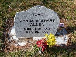 Cyrus Stewart Toad Allen