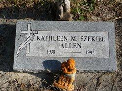 Kathleen M <i>Ezekiel</i> Allen