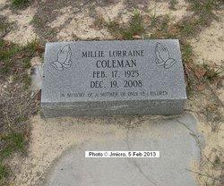 Millie Lorraine Coleman