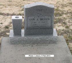 Mary A Bronson