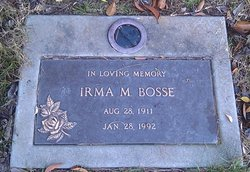 Irma Marie <i>Palmrose</i> Bosse