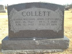 Almira <i>Williams</i> Collett