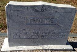 Lewis L Crowe