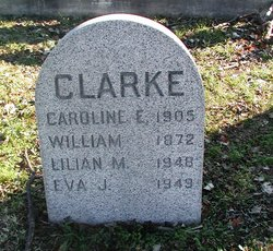 Caroline E <i>Reeves</i> Clarke