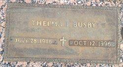 Thelma Irene <i>Hood</i> Busby