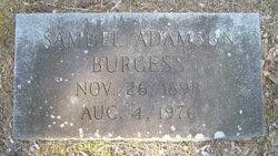 Samuel Adamson Burgess