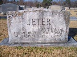 Annie Neal <i>McElwrath</i> Jeter