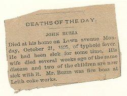 John Thomas Buzza
